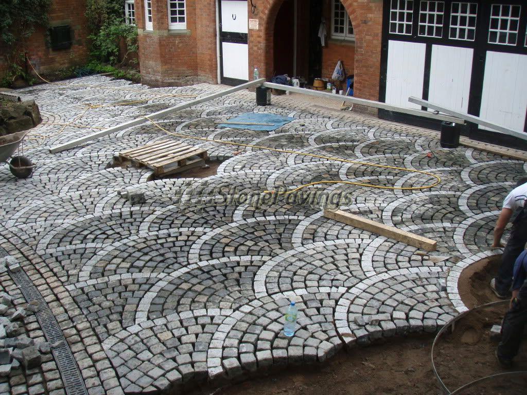Granite Cobblestone Pavers : Leeca paving stone global leading